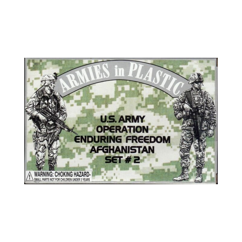 1/32 - U.S Army Operation Enduring Freedom Afghanistan Set #2