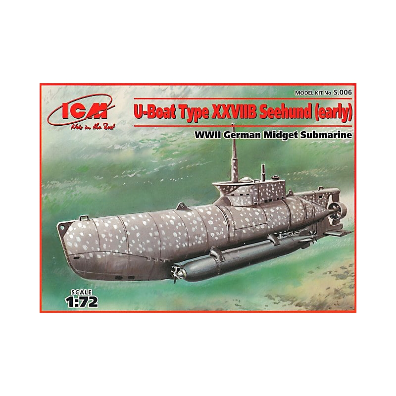 1/72 - U-Boat Type XXVIIB Seehund (early)